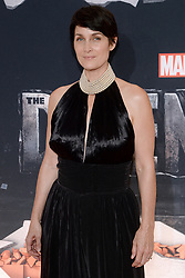 Actress Carrie-Anne Moss attends the 'Marvel's The Defenders' New York Premiere at Tribeca Performing Arts Center in New York, NY, on on July 31, 2017. (Photo by Anthony Behar) *** Please Use Credit from Credit Field ***