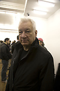 MICHAEL CRAIG-MARTIN, Opening of a new exhibition of collages by John Stezaker at The Approach W1. 74 Mortimer st. and afterwards at the House of St-Barnabas-in-Soho. Greek st. London. 21 November 2007. -DO NOT ARCHIVE-© Copyright Photograph by Dafydd Jones. 248 Clapham Rd. London SW9 0PZ. Tel 0207 820 0771. www.dafjones.com.