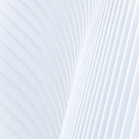 Trumpet in White - is formed as the powdered white steel makes its way forward in a graceful surge. Turning to the left bending to fulfill its form and function.