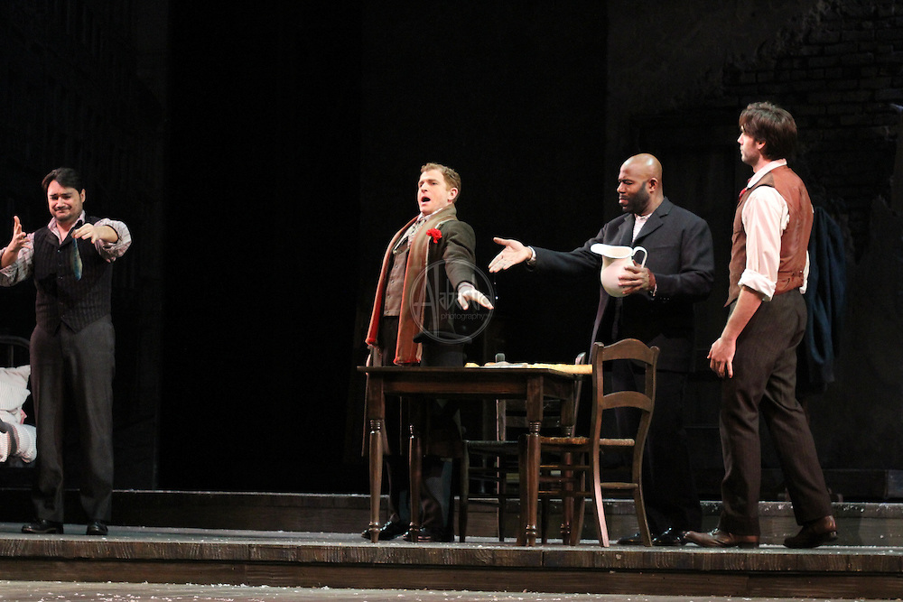 Seattle Opera production of Giacomo Puccini's La Bohéme.