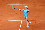 Ashleigh Barty of Australia against Aryna Sabalenka of Belarus, final match during the Mutua Madrid Open 2021, Masters 1000 tennis tournament on May 8, 2021 at La Caja Magica in Madrid, Spain - Photo Laurent Lairys / ProSportsImages / DPPI