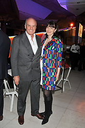 NICHOLAS & GEORGIA COLERIDGE at the Vogue Festival Party 2013 in association with Vertu held at the Queen Elizabeth Hall, Southbank Centre, London SE1 on 27th April 2013.