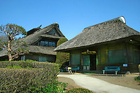Japanese thatched village in Fuji Hakone National Park.