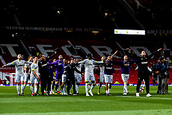 Derby County celebrate beating Manchester United at Old Trafford - Mandatory by-line: Robbie Stephenson/JMP - 25/09/2018 - FOOTBALL - Old Trafford - Manchester, England - Manchester United v Derby County - Carabao Cup
