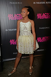 August 29, 2018 - New York, NY, USA - August 29, 2018  New York City..Kai N. Ture attending 'An Actor Prepares' film premiere on August 29, 2018 in New York City. (Credit Image: © Kristin Callahan/Ace Pictures via ZUMA Press)