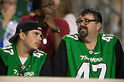 Marshall Thundering Herd fans look on against the North Texas Mean Green during the 1st half at Apogee Stadium in Denton, Texas on October 8, 2016. (Cooper Neill for The Herald-Dispatch)