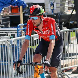 ANDERMATT (SUI) JUNE 13 <br /> Wout Poels (Netherlands / Team Bahrain) at Tour de Suisse 2021  (Photo: Sportfoto/Orange Pictures)