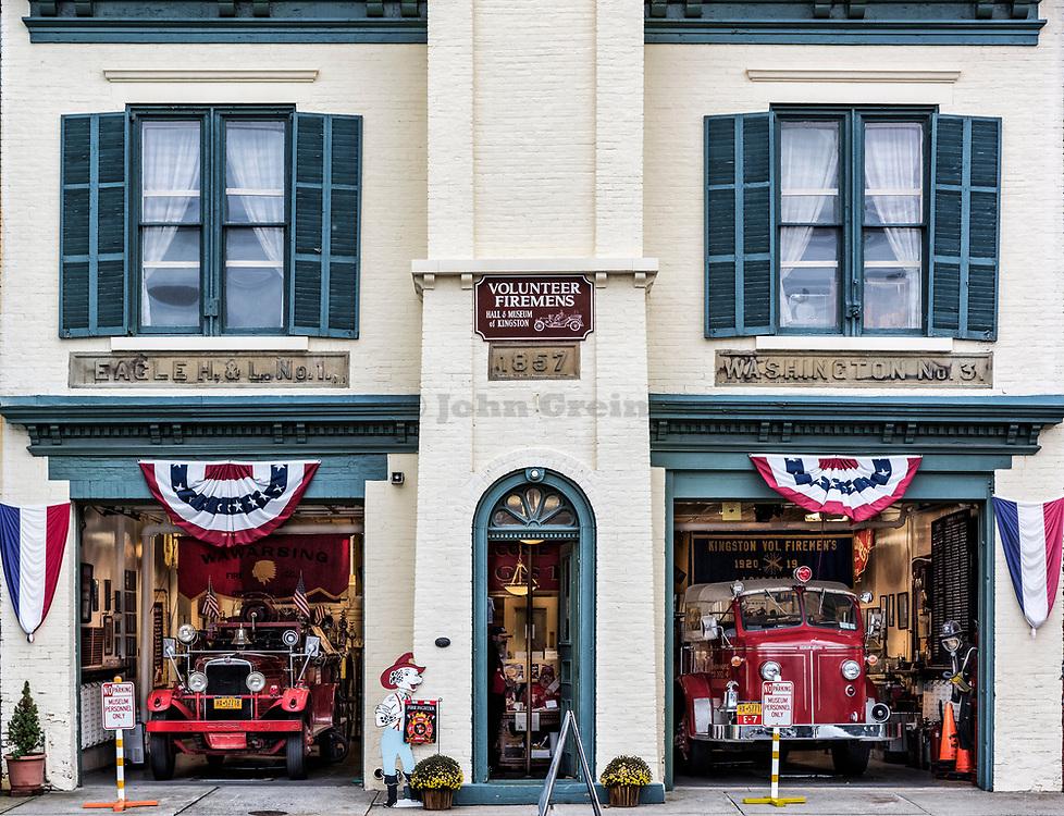 Volunteer Firemen's Hall & Museum of Kingston, New York, USA