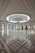 I. I. C. Bratianu Hall. The Palace of the Parliament (Also known as Ceausescu's Palace or House of The People) in Bucharest, Romania. Built 1983-1989. Architect: Anca Petrescu