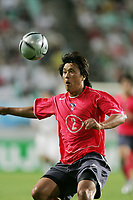 You Kyoung Youl (KOR), <br /> AUGUST 4, 2005 - Football : <br /> EAST ASIAN FOOTBALL CHAMPIONSHIP 2005 <br /> Final Competition <br /> between South Korea 0-0 North Korea <br /> at Jeonju World Cup Stadium, Jeonju, South Korea. <br /> (Photo by AFLO /Digitalsport) <br /> Norway only