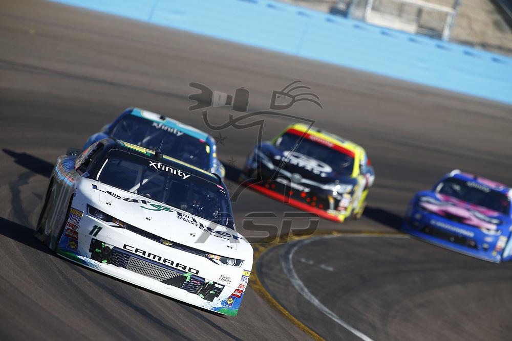 November 11, 2017 - Avondale, Arizona, USA: Blake Koch (11) brings his car through the turns during the Ticket Galaxy 200 at Phoenix Raceway in Avondale, Arizona.