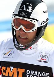 Mario Matt at 9th men's slalom race of Audi FIS Ski World Cup, Pokal Vitranc,  in Podkoren, Kranjska Gora, Slovenia, on March 1, 2009. (Photo by Vid Ponikvar / Sportida)