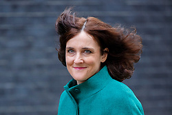 © Licensed to London News Pictures. 19/04/2016. London, UK. Northern Ireland Secretary THERESA VILLIERS attending a cabinet meeting in Downing Street on Tuesday, 19 April 2016. Photo credit: Tolga Akmen/LNP