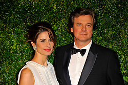 Livia and Colin Firth attends the 58th London Evening Standard Theatre Awards in association with Burberry, London, UK, November 25, 2012. Photo by Chris Joseph / i-Images.