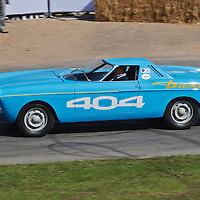 Peugeot 404 Diesel (1965), single seat record car at the Goodwood FOS on 28 June 2015