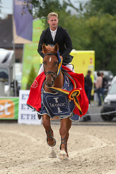 Kennis Pieter, BEL, Okky-Blue S<br /> Belgisch kampioenschap Jonge Paarden Gesves 2019<br /> © Hippo Foto - Dirk Caremans<br />  18/08/2019
