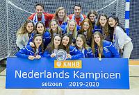 ROTTERDAM  -  finale NK  zaalhockey Kampong JB1-Nijmegen JB1 (10-3).   COPYRIGHT  KOEN SUYK