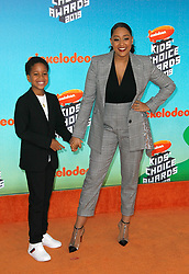 March 23, 2019 - Los Angeles, CA, USA - LOS ANGELES, CA - MARCH 23: Cree Taylor Hardrict, Tia Mowry attends Nickelodeon's 2019 Kids' Choice Awards at Galen Center on March 23, 2019 in Los Angeles, California. Photo: CraSH for imageSPACE (Credit Image: © Imagespace via ZUMA Wire)