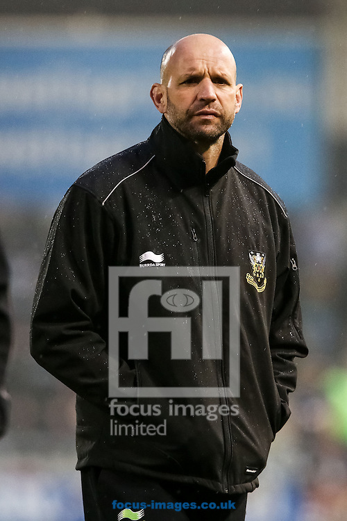Northampton Saints director of rugby Jim Mallinder during the Amlin Challenge Cup match at AJ Bell Stadium, Eccles<br /> Picture by Andy Kearns/Focus Images Ltd 0781 864 4264<br /> 03/04/2014