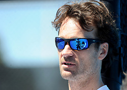 January 13, 2019 - Melbourne, Australia - Australian Open - Carlos Moya - Espagne (Credit Image: © Panoramic via ZUMA Press)