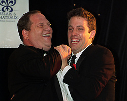 File photo dated 20/05/1999 of Harvey Weinstein (left) with Ben Affleck at an event benefiting the American Foundation for AIDS Research at the Cannes Film Festival.