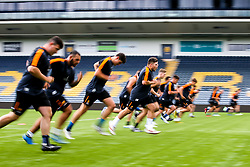 Worcester Warriors players during preseason training ahead of the 2019/20 Gallagher Premiership Rugby season - Mandatory by-line: Robbie Stephenson/JMP - 06/08/2019 - RUGBY - Sixways Stadium - Worcester, England - Worcester Warriors Preseason Training 2019