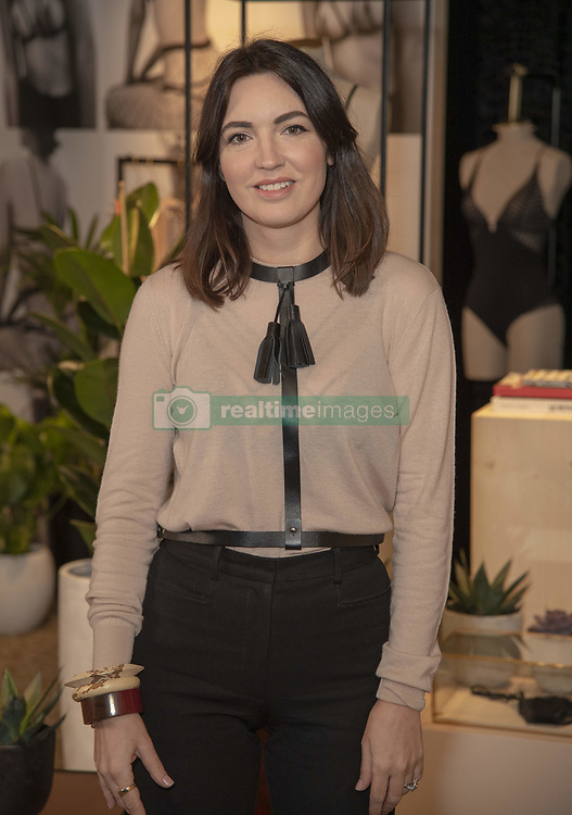 February 20, 2019 - London, United Kingdom - Designer Lisa Chavy Celebrate French Lingerie Label LIVY At The Victoria's Secret New Bond Street Store in London. (Credit Image: © Gary Mitchell/SOPA Images via ZUMA Wire)