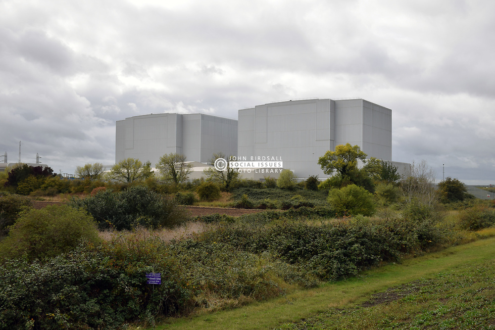 Bradwell nuclear power station is a partially decommissioned Magnox power station located on the Dengie peninsula at the mouth of the River Blackwater, Essex. UK Sep 2019