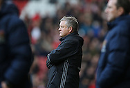 Chris Wilder manager of Sheffield Utd during the English League One match at Bramall Lane Stadium, Sheffield. Picture date: December 31st, 2016. Pic Simon Bellis/Sportimage