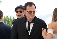 Brad Pitt, Director Quentin Tarantino and Margot Robbie at Once Upon A Time... In Holywood film photo call at the 72nd Cannes Film Festival, Wednesday 22nd May 2019, Cannes, France. Photo credit: Doreen Kennedy