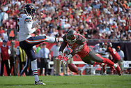 during the first half of an NFL football game in Tampa, Fla., Sunday, Dec. 27, 2015. (AP Photo/Phelan M. Ebenhack)