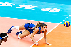 19-10-2018 JPN: Semi Final World Championship Volleyball Women day 18, Yokohama<br /> China - Netherlands / Cristina Chirichellac #10 of Italy