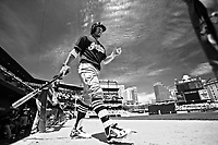 Cleveland Indians  Francisco Lindor plays in game against the Baltimore Orioles.<br /> <br /> (Photo/Tom DiPace)