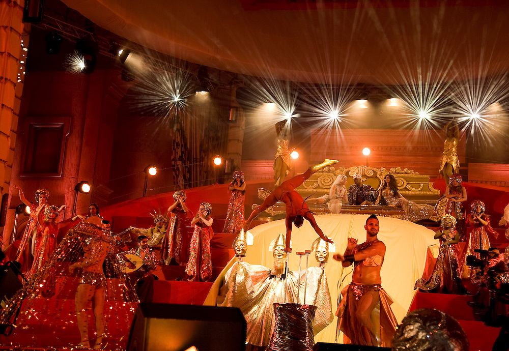 Performers on stage during the Life Ball 2013 held in Vienna, Austria. 25/05/2013 Manuela Larissegger/CatchlightMedia