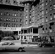 0001-E123B Portland, Oregon. Last days of the Portland Hotel, early August 1951