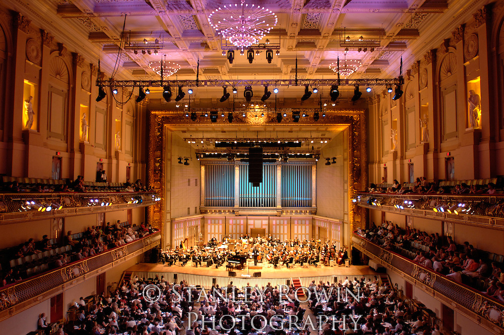 Boston Pops; Symphony Hall, Architectural Detail, Interior