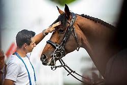 Philippaerts Thibault, BEL, H&M Extra<br /> CHIO Aachen 2019<br /> Weltfest des Pferdesports<br /> © Hippo Foto - Dirk Caremans<br /> Philippaerts Thibault, BEL, H&M Extra