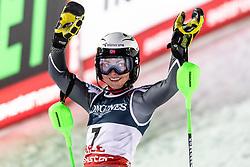 February 8, 2019 - Re, SWEDEN - 190208 Ragnhild Mowinckel of Norway celebrates after the  women's alpine combination during the FIS Alpine World Ski Championships on February 8, 2019 in re..Photo: Joel Marklund / BILDBYRN / kod JM / 87851 (Credit Image: © Joel Marklund/Bildbyran via ZUMA Press)