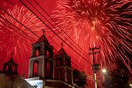 02 julio 2021, Tultepec, México. Celebración anual en honor a Santa Isabel.