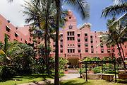 Royal Hawaiian Hotel,Waikiki, Honolulu, Oahu, Hawaii