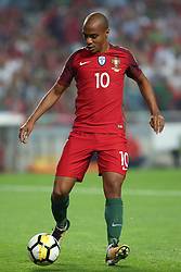 October 10, 2017 - Lisbon, Portugal - Portugal's midfielder Joao Mario in action during the 2018 FIFA World Cup qualifying football match between Portugal and Switzerland at the Luz stadium in Lisbon, Portugal on October 10, 2017. Photo: Pedro Fiuza  (Credit Image: © Pedro Fiuza/NurPhoto via ZUMA Press)