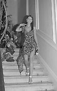 Petrina Khashoggi. Julian Macdonald  fashion show, Le Meridien Grosvenor House. After party, Il Bottaccio, Grosvenor Place. London. 14 September 2002. © Copyright Photograph by Dafydd Jones 66 Stockwell Park Rd. London SW9 0DA Tel 020 7733 0108 www.dafjones.com