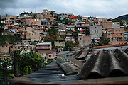 TEGUCIGALPA, HONDURAS - NOVEMBER 15, 2013: View of Comayagüela where Felipe Nery Aguilar Rodríguez (71) and Gladys Ondina Aguilar Rodríguez (40), were murdered and two children were injured. CREDIT: Rodrigo Cruz for The New York Times