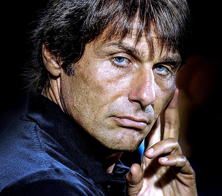 Antonio Conte, allenatore della Juventus.<br /> 04/08/2012 Salerno<br /> Football Calcio 2012 / 2013 <br /> Amichevole / Friendly match <br /> Juventus vs Malaga  2-0<br /> Foto Insidefoto / Antonietta Baldassarre