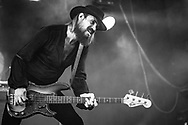 "Simon ""Dragon"" Bouteloup of German hard-rock band Kadavar at Haldern Pop Festival"