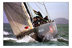 Team New Zealand ..New Zealand, a country that absorbs their sportng achievements into legend. The America's Cup, the oldest sporting trophy,  won and retained by an NZ based syndicate, with considerable state aid and of course the support of the people, in their droves...Marc Turner / PFM
