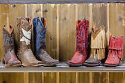 Boots at Acumen Brands in Fayetteville, Ark.