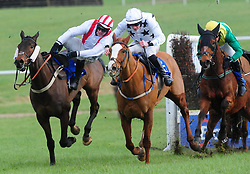 All The Chimneys and jockey David Mullins go on to win the Join Us Here Again February 21st Handicap Chase as Paul Townend falls from D'bru Na Boinne at Thurles Racecourse.
