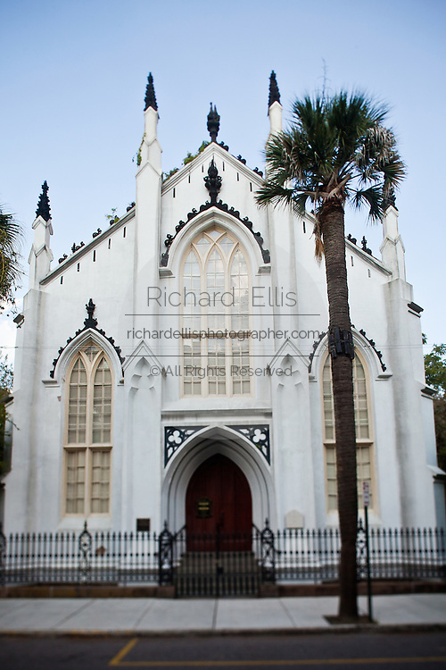 Historic French Huguenot Church in Charleston, SC.
