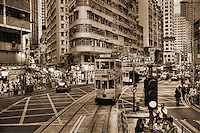 Wan Chai District (sepia)
